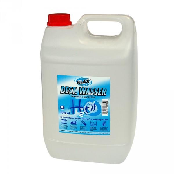 KLAX Destilliertes Wasser