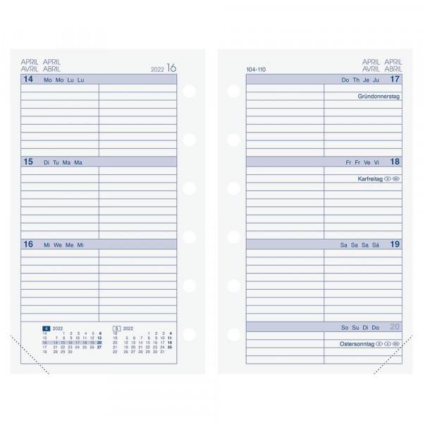 Brunnen Wochenkalendarium MINI+ 2022