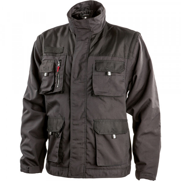 ALBATROS ALLROUND BLACK Jacke 2in 1
