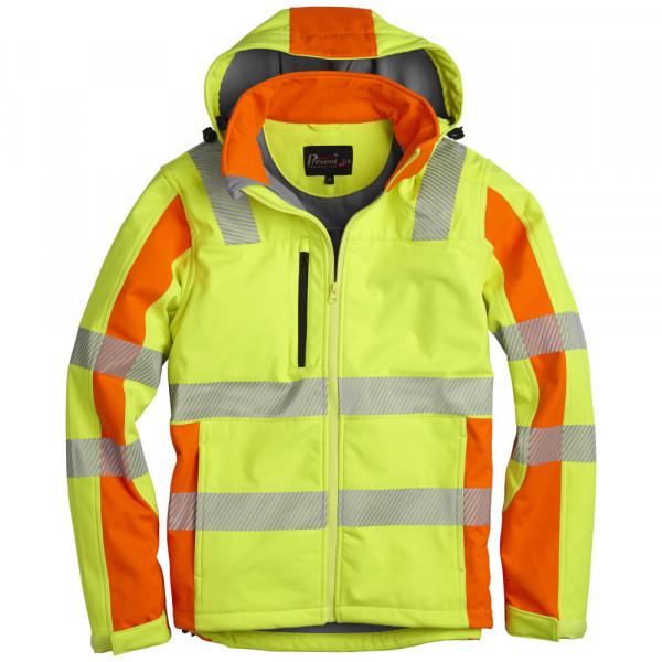 PREVENT® Trendline Softshelljacke 2-farbig