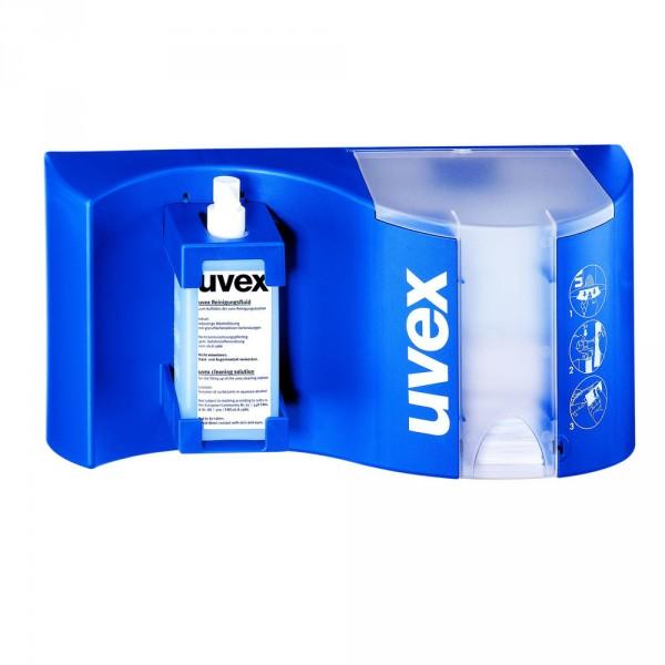 UVEX Brillenreinigungsstation