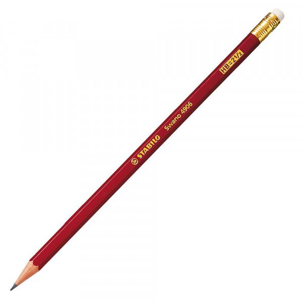 STABILO Bleistift Swano® mit Radierer