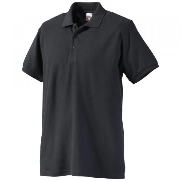 FRUIT OF THE LOOM Polo-Shirt Kurzarm