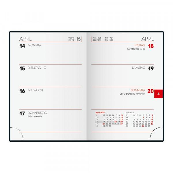 Brunnen Taschenkalender 2022