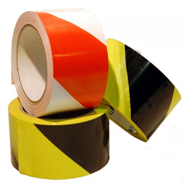 Warnmarkierungsband gelb/schwarz