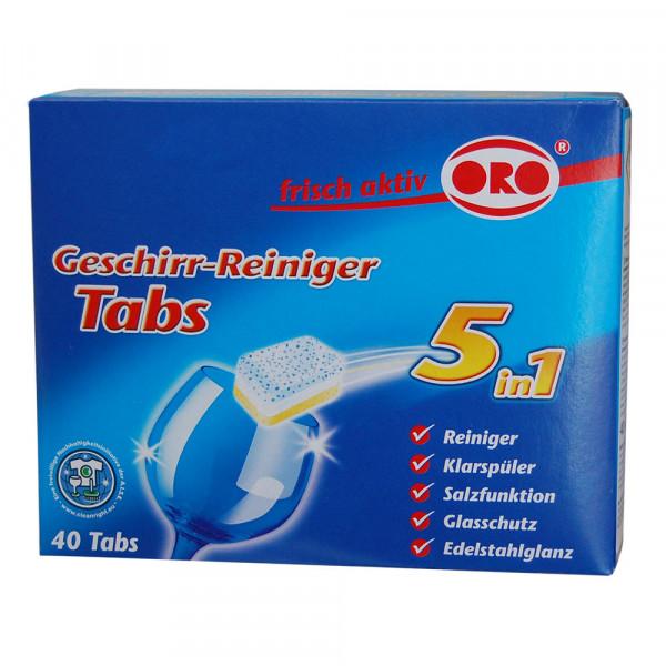 ORO-frisch-aktiv® 5 in 1 Tabs