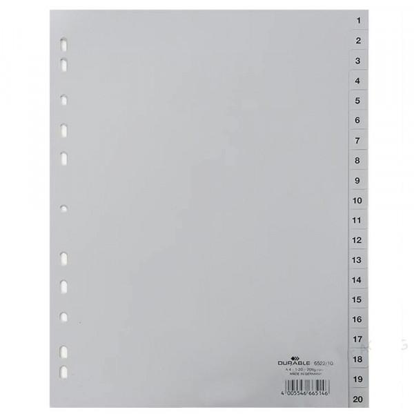 DURABLE Register A4 (1-20)