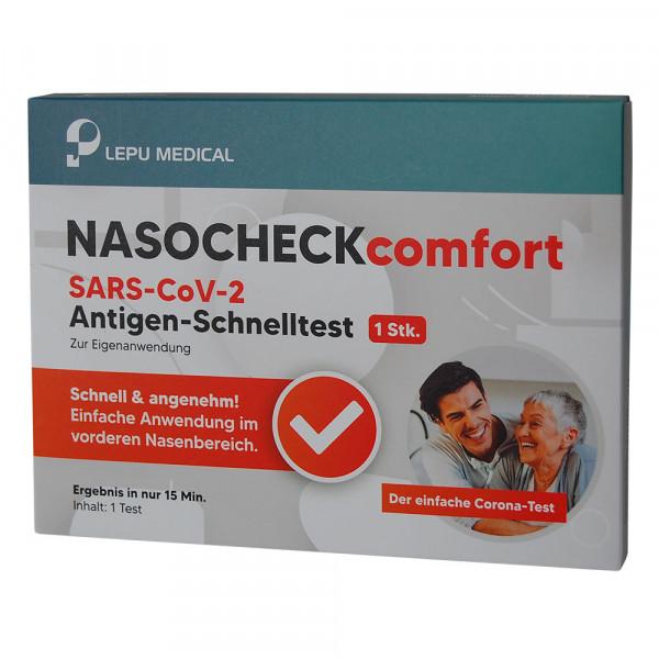 LEPU MEDICAL Nasocheck comfort Antigen Schnelltest
