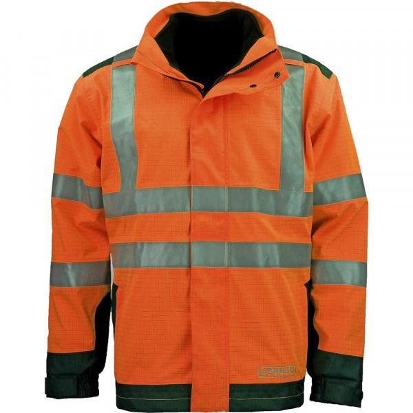 ASATEX Wetter-, Flamm- und Warnschutzjacke