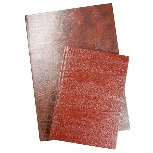 Geschäftsbuch mit festem Kunstledereinband