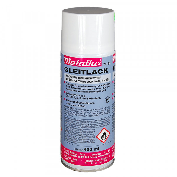 METAFLUX Gleitlack-Spray 70-83